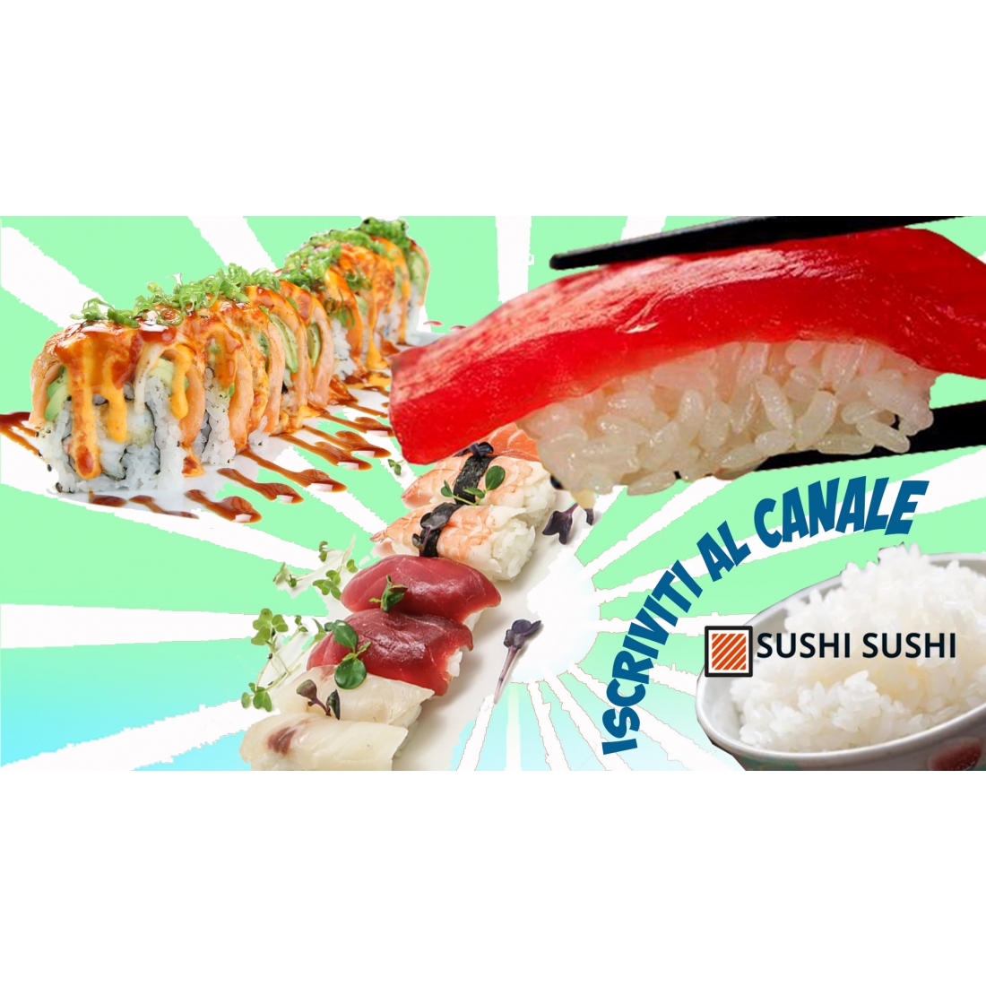 Le video ricette di Sushi sushi