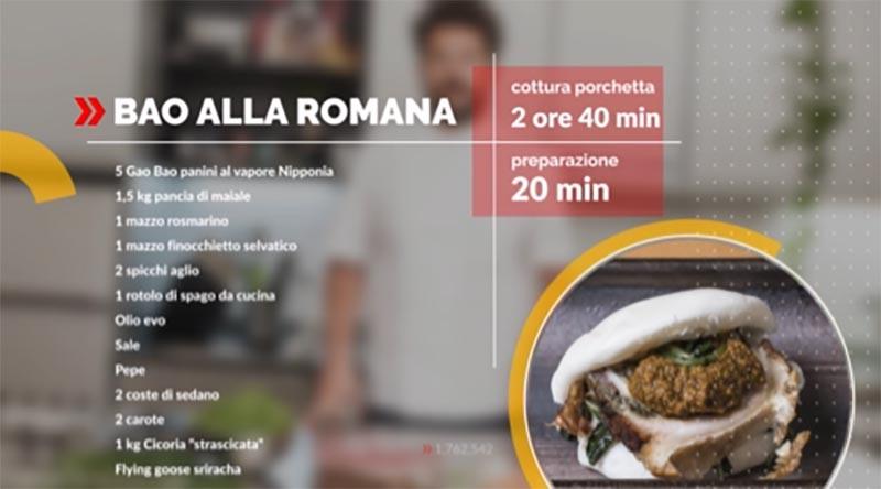 Una ricetta di cucina fusion dello chef Paolo D'Ercole