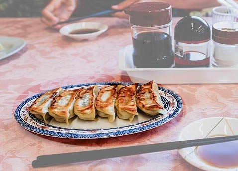 Gyoza ravioli giapponesi